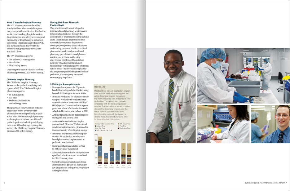 Best Aerospace Engineering Schools >> CLEVELAND CLINIC DEPARTMENT OF PHARMACY: Annual Reports – TymcioHoffman