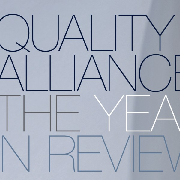 QUALITY ALLIANCE: Annual Report 2011-2012