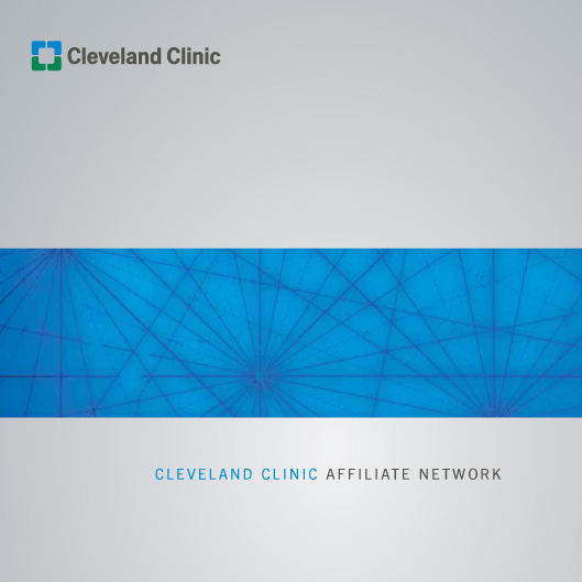 CLEVELAND CLINIC: Affiliate Network